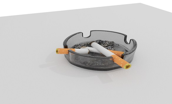Слика од Пепелниците полни со опушоци се опасни за здравјето