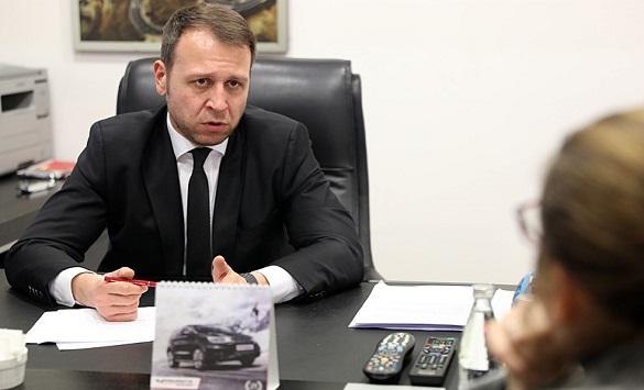 Слика од Јанушев: Кампања со директен контакт со граѓаните и посета на населените места