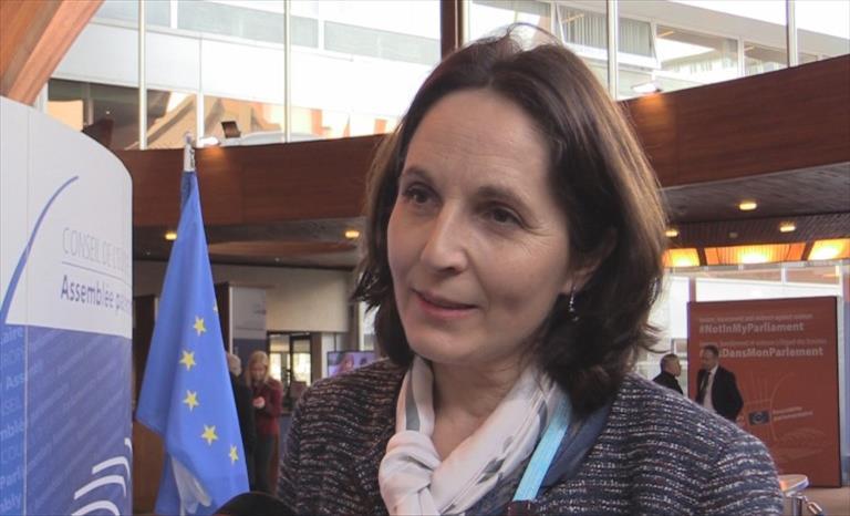 Слика од Интервју со Лилиана Танги, заменик претседател на Комисијата за надворешни работи на француското Национално Собрание