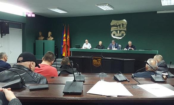 Слика од Димовски доби нов мандат за претседател на Боксерската федерација на Македонија