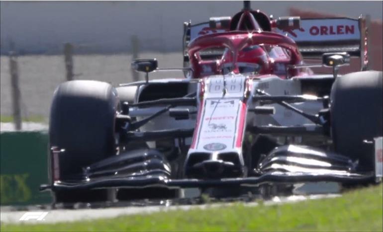 Слика од Кубица најбрз по обновувањето на Ф1 тестовите во Барселона