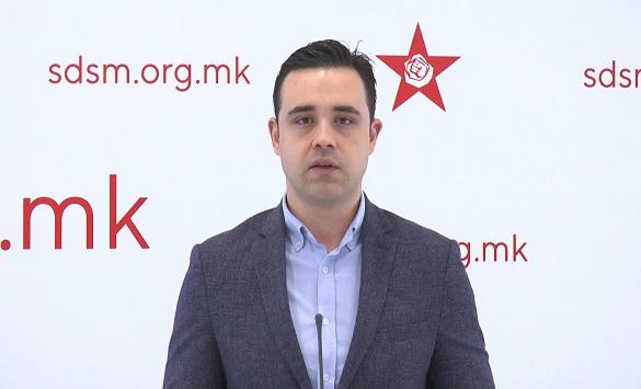 Слика од Костадинов: Предметот против Вангеловски ја потврдува потребата од Законот за ЈО и реформи во правосудството