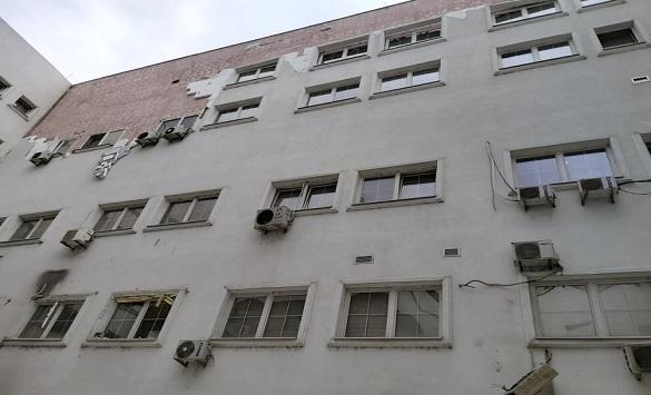 """Слика од ЈО за гонење организиран криминал и корупција отвори предмет за паднатата фасада на АД """"МЕПСО"""""""