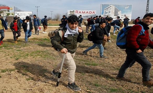 Слика од Грција го затвори граничниот премин со Турција кај Еврос
