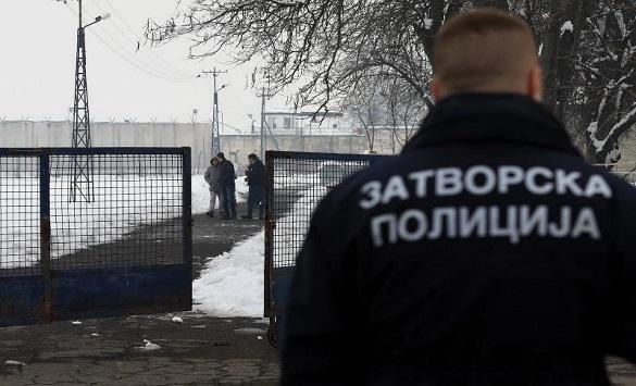 """Слика од Затвореник косовец предизвикал пожар во затвор """"К'шање"""""""