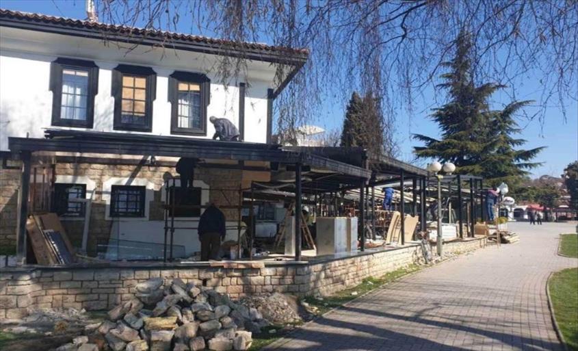 Слика од НемеТ гајле во Охрид, тераат со реновирање (Фото)
