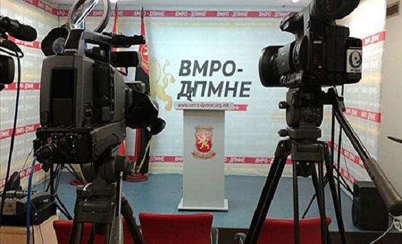 """Слика од ВМРО-ДПМНЕ: Граѓаните се оставени без приходи и парче леб, а Костадинов се фали со успешните """"економски"""" политики на Владата"""