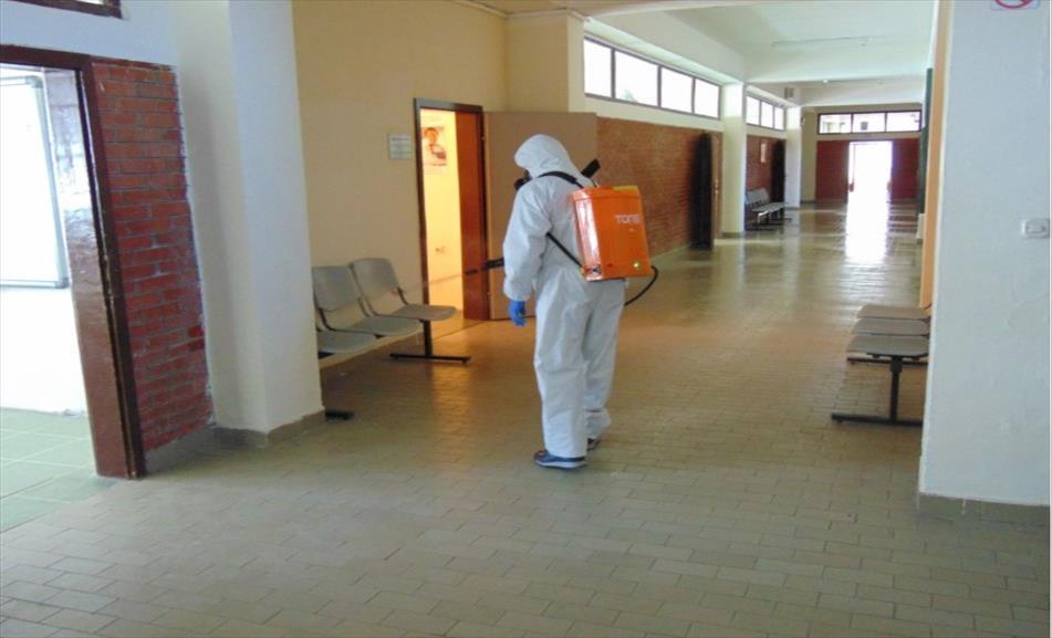 Слика од Во Крушево дезинфекција на објектите, со работа почнуваат и волонтерите