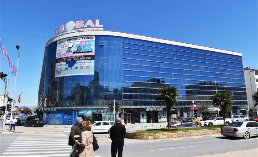 """Слика од Трговците од ГТЦ """"Глобал"""" во Струмица бараат нови економски мерки за моловите"""