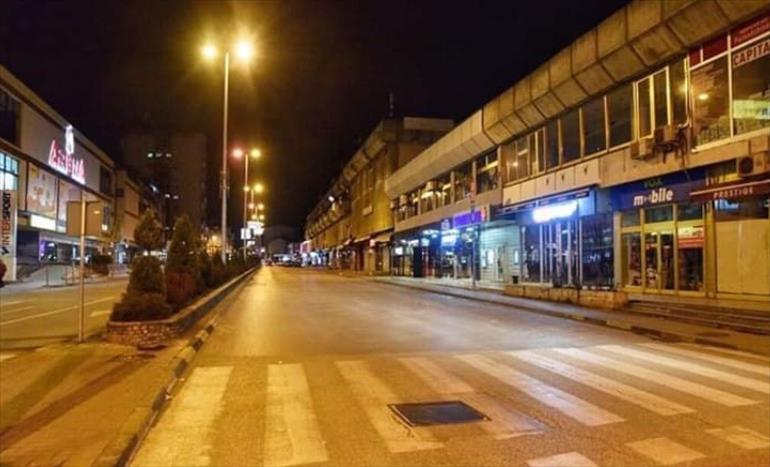 """Слика од ЈКП """"Тетово"""" со апел да се плаќаат сметките за да има плати за вработените кои работат идезинфекција на градот"""