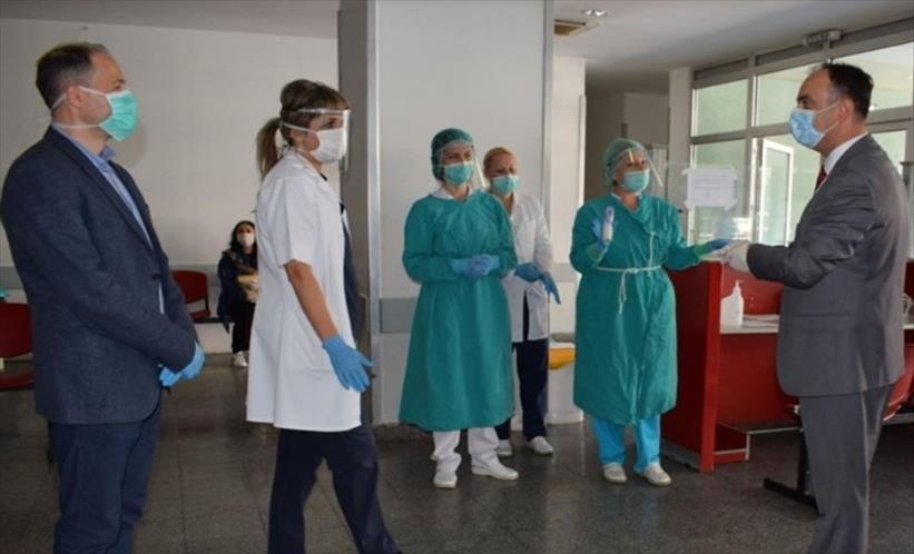 Слика од Чулев пренамени дел од заштитната опрема за инфективна, гинекологија и гастроентерохепатологија