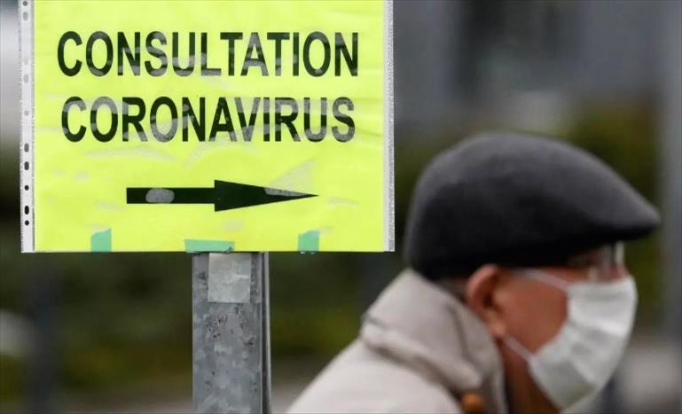 """Слика од """"МГ Франс"""": Можно е од коронавирусот да се заразени повеќе од 1,6 милиони Французи"""