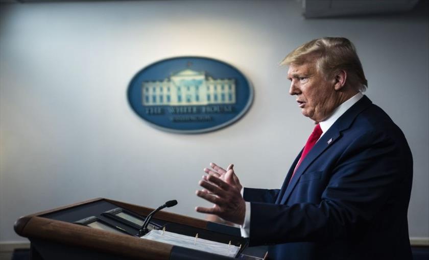 Слика од По забелешките од Трамп, Белата куќа веќе подготвува план за кастрење на парите за СЗО