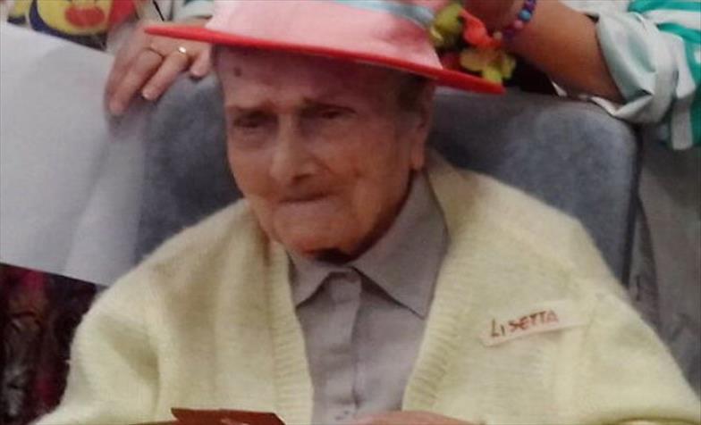Слика од Италијанка наполни 109 години, во нејзиниот живот преживеала две светски војни и три епидемии