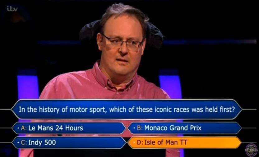 Слика од Британец го знаеше одговорот на прашањето за милион фунти, не собра храброст да го одговори (Видео)