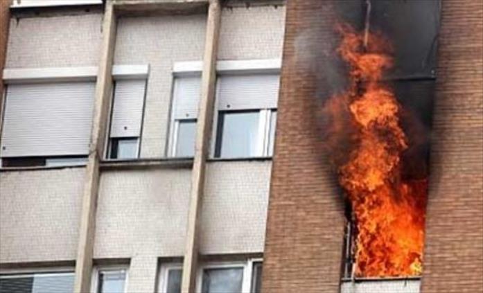 Слика од Кичевчанец по семејна расправија се обидел да го запали станот во кој живееле