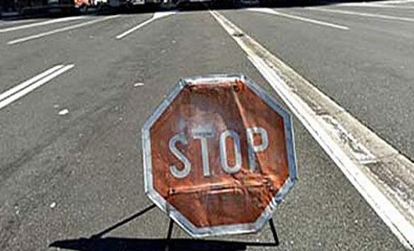 Слика од Петнаесетминутен прекин на сообраќајот кај Врбјани