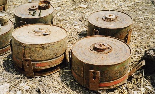 Слика од Кичевчанка во подрум пронашла неексплодирана мина