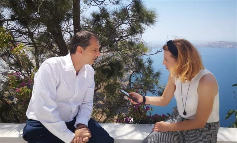 Слика од Теохарис: Сакаме пријателите од Македонија да бидат безбедни при нивниот престој во Грција