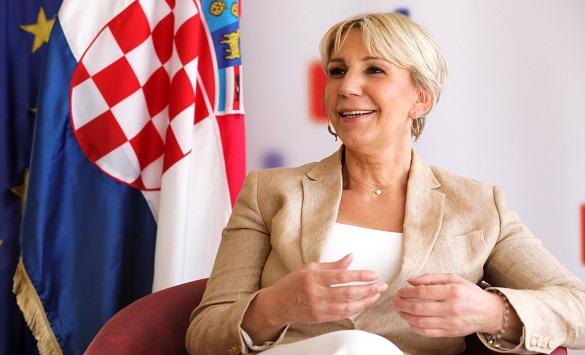 Слика од Тигањ: Горда сум што Македонија доби почеток на преговори за време на хрватското претседавање, очекуваме изборите да бидат фер и демократски