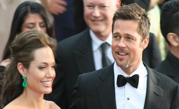 Слика од Анџелина Џоли и Бред Пит повторно во добри односи