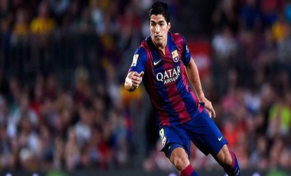 Слика од Суарез се искачи на третото место по бројот на голови во историјата на Барселона