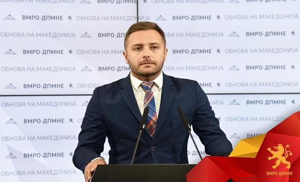 Слика од Арсовски: СДСМ е мафијашка партија и Македонија ја направи мафијашка држава