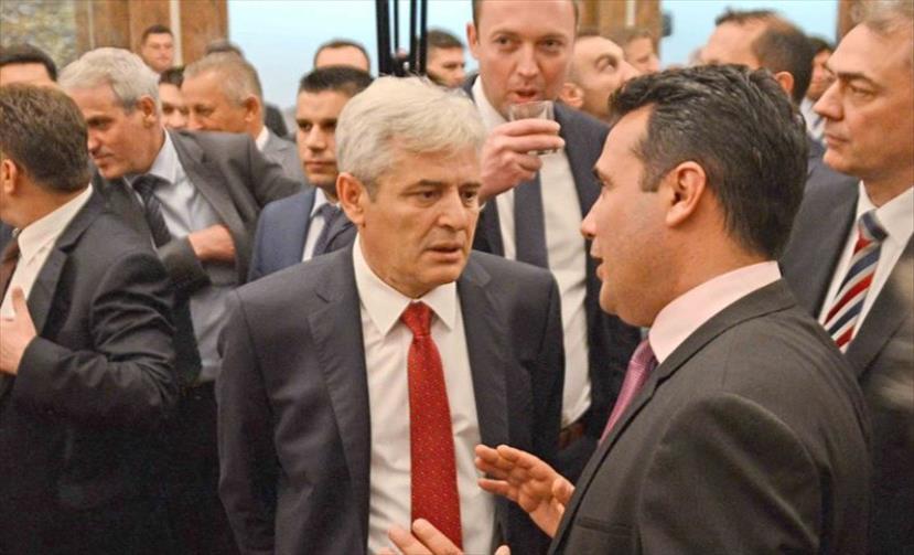 Слика од Ахмети: Заев ги дава изјавите за ДУИ по испиени две чаши ракија, кога е со мене сосема друго зборува