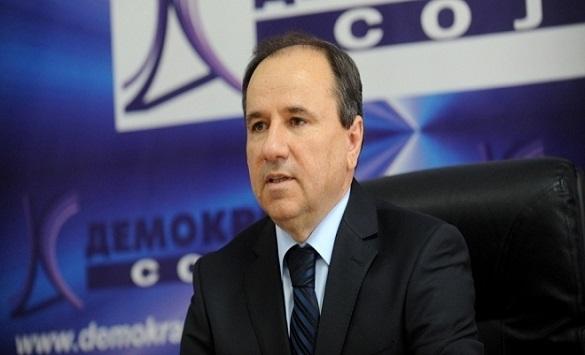 Слика од Трајанов од шестиот конгрес на ДС: Без договорите со Грција и Бугарија далеку ќе бевме и од НАТО и од ЕУ
