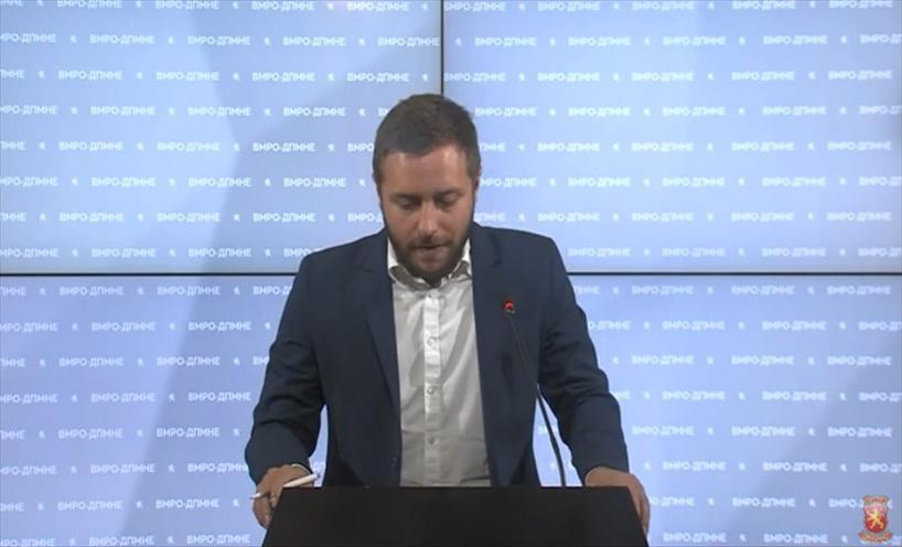 Слика од Арсовски: Извештајот за политичко рекламирање покажува сооднос од 2:1 во корист на СДСМ поради директниот упад во изборниот законик