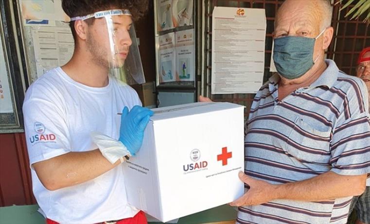 Слика од Гевгелискиот Црвен крст дистрибураше 140 хуманитарни пакети