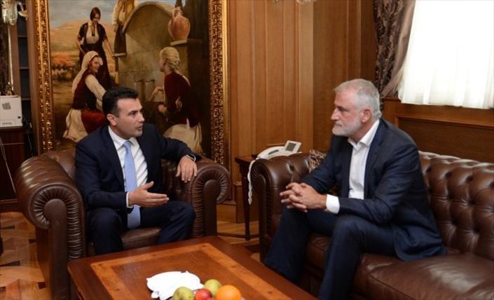 Слика од ДПА влегува во коалиција со СДСМ, официјално потврдија од партијата