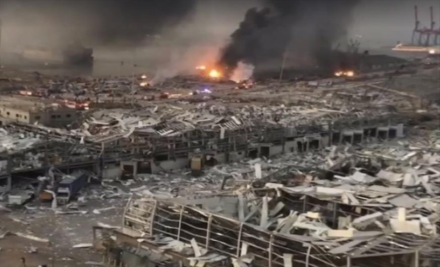 Слика од Најмалку десетмина загинати во експлозијата во Бејрут