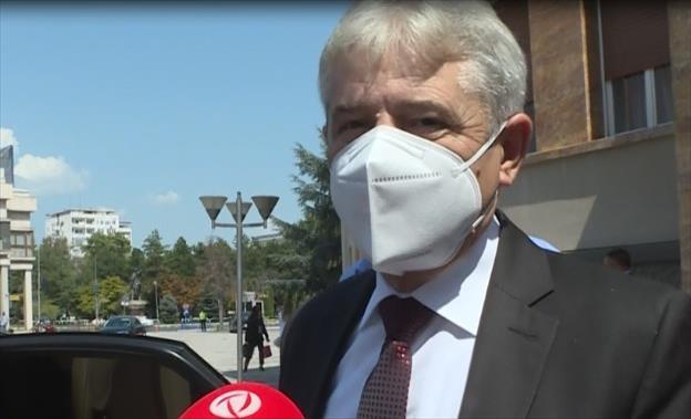 Слика од Ахмети: Засега нема ништо конкретно околу составот на новата Влада