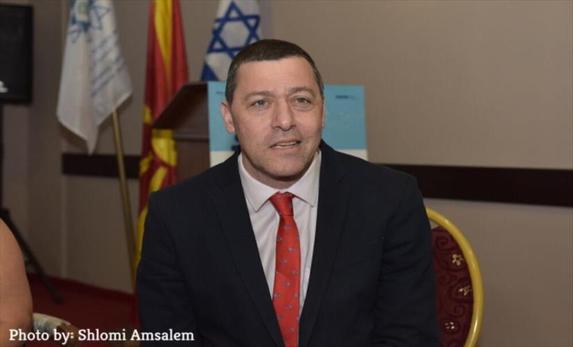 Слика од Интервју со Оријан, амбасадор на Израел во Македонија: Израел им подава рака на сите Евреи и еврејски заедници кои се во тешка состојба во регионот