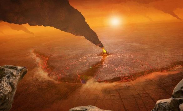Слика од На Венера пронајден е гас што на Земјата е признак на живот