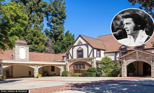 Слика од Куќата на Елвис Присли се продава за 30 милиони долари