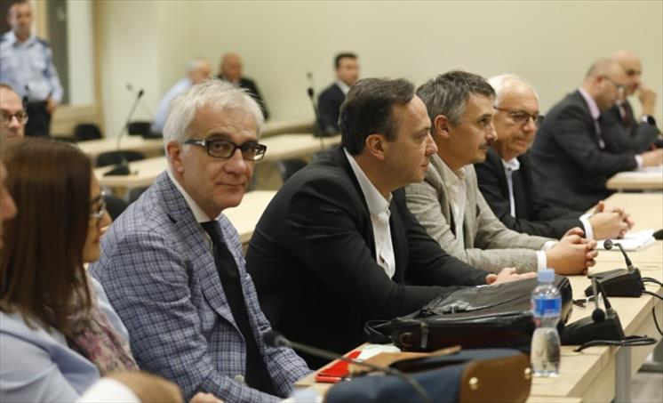 """Слика од Новинари и политичари кои биле прислушувани од 2008 до 2014 година сведоци во случајот """"Таргет-Трвдина"""""""