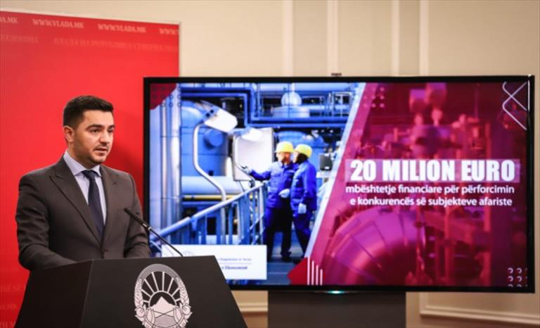 Слика од Верувам во проекциите на МФ, рече Бектеши откако ММФ прогнозира поголем пад на БДП-то од проектираното