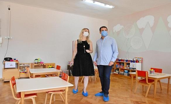 """Слика од По реконструкцијата на """"Мајски цвет"""" - подобри услови за 140 дечиња"""