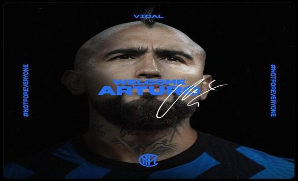 Слика од Видал стана играч на Интер