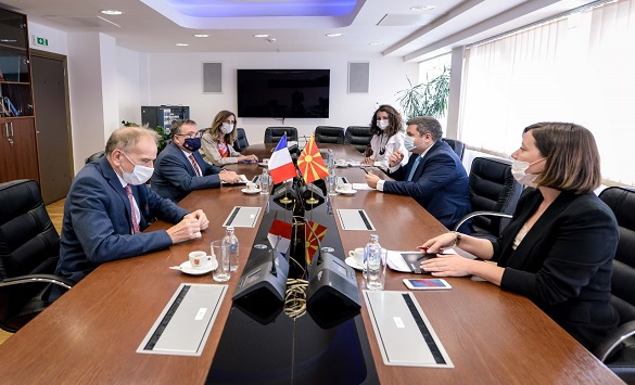 Слика од Маричиќ – Тимоние: Франција е силен поддржувач за брз почеток на преговорите со ЕУ