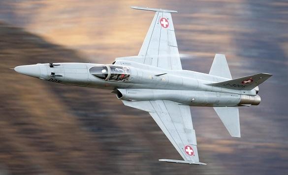 Слика од Се урна воен авион во Тверската област во Русија