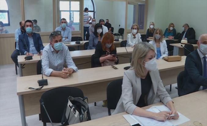 Слика од Адвокатот на Јанкуловска побара и таа да биде ставена во листата на оштетени од прислушувањето, новинарите ќе бараат оштета од државата