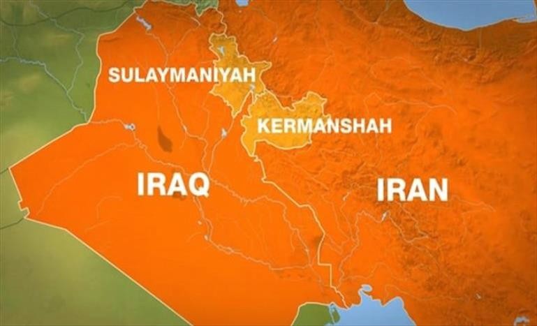 Слика од Ирачкиот министер за надворешни работи во прва посета на Иран