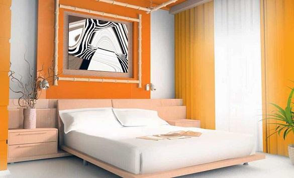 Слика од Бои кои не се препорачуваат за ѕидот во спалната соба