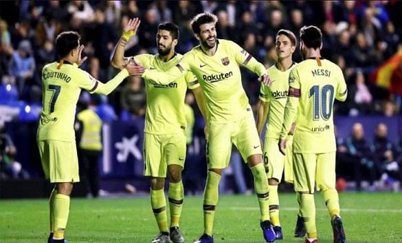 Слика од Барселона ги обнови договорите со четворица фудбалери