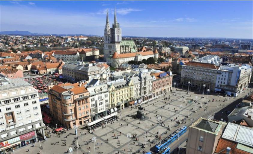 Слика од Дваесет и еден вработен во болница во Загреб позитивни на Ковид-19