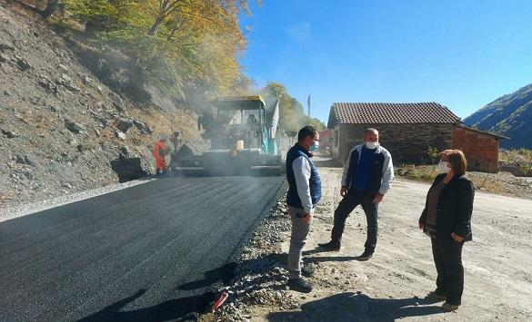 Слика од Времен режим на сообрќај поради асфалтирање на регионалниот патен правец М.Каменица – Саса