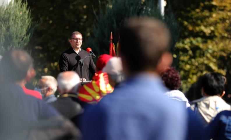 Слика од Мицкоски: Бугарски политичар ми кажа дека го бараат само тоа што Заев го ветил, му реков дека Македонците имаат искуство со ветувањата на Заев